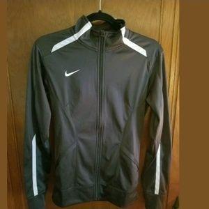 Nike Dri-fit Running Gray Zip Up Size XS